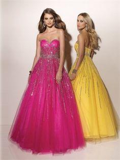 A-line Floor Length Sweatheart Open Back Rose Red Or Yellow Ed1057 Sequins Belt Evening Dress EVD107 www.tidebridaldresses.com $192.0000