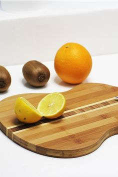 Guitar Shaped Bamboo Cutting Board by Housewares Blowout on @HauteLook