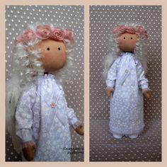 Текстильная кукла Ангел. Angels