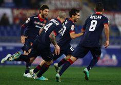 Roma-Cagliari Serie A 23.a giornata Pagelle: Gazzetta e Corsport