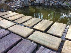 Betonowe drewno do ogrodu. Deski i pnie imitujące drewno. http://www.liderbudowlany.pl/artykul/354/Betonowe_drewno_do_ogrodu