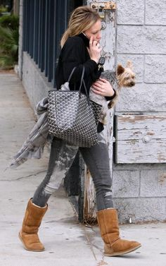Image detail for -Goyard Tote – Hilary Duff | Rioni Designer Handbag Blog