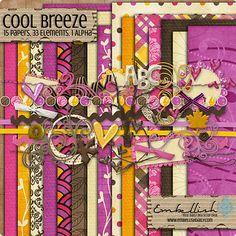 Cool Breeze full kit freebie from Embellish #digiscrap #scrapbooking #digifree #scrap #freebie #scrapbook