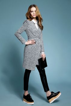 Material:Wool Color: Gray Size: S/M/L