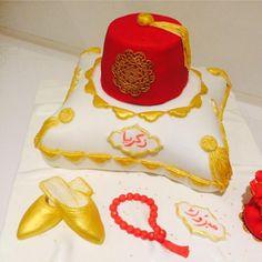 Magnifique coussin gâteau pour une circoncision