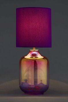 Cara Small Glass Table Lamp from Next