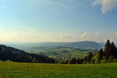widok z Maciejowej