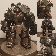 Warhammer 40k Figures, Warhammer Paint, Warhammer Models, Warhammer 40k Miniatures, Warhammer 40000, Arte Robot, Arte Dc Comics, Space Wolves, Game Workshop