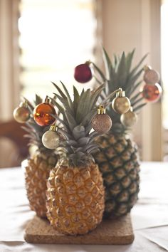 Pineapples Are the New Christmas Trees - TownandCountrymag.com