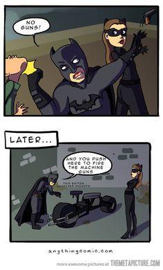 funny batman | funny-Batman-Catwoman-bike