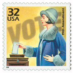 On August 18, 1920, after years of protest on both sides, the 19th amendment to the U.S. Constitution gave women the right to vote – an important step toward equality for American women.