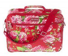 Laptop Bag - China Rose Red China Rose, Laptop Bag, Red Roses, Lunch Box, Bags, Handbags, Bento Box, Laptop Bags, Bag