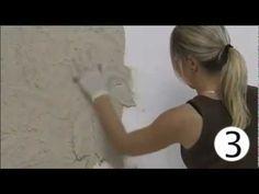 ❤Video on making a wall look like stone.❤ Декоративная штукатурка Senipierre - YouTube