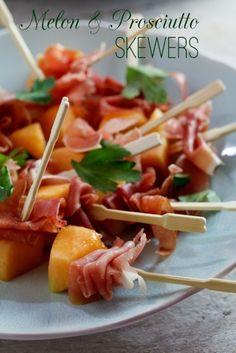 Proscuito and melon