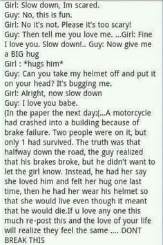 This is so sad and sweet all at the same time
