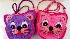 #DY# TUTORIAL Bolso Crochet Cara de Gato