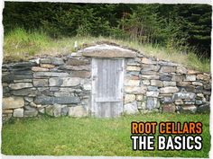Root Cellars: The Basics on #groundchat Friday, October 23 at 2 pm EST. Join us!