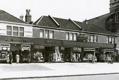 1932 Co-op store, Gloucester Road, Bristol Co Op Store, Gloucester Road, Bristol England, German Uniforms, High Street Shops, City Of Bristol, Local History, Cardiff, Wwii