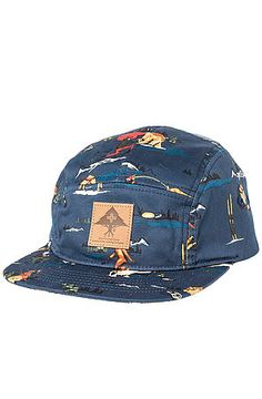 The LRG Father Nature 5 Panel in Navy by LRG Core Collection 5 Panel Hat 5ee34fae0463