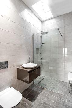 Bathroom Tiles Kent en-suite shower room in goudhurst, kent featuring gsi vanity unit