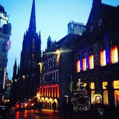 #edinburgh #royalmile #christmas by rowli87