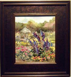 """CSU Garden"" by Cathy Goodale available through Columbine Gallery on Amazon Fine Art"