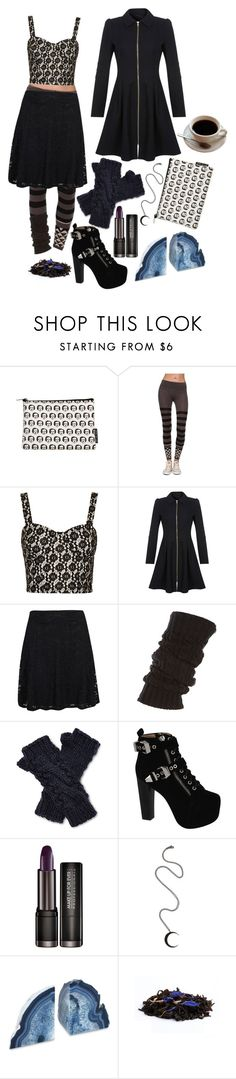 """."" by goth-proxy ❤ liked on Polyvore featuring Burton, Topshop, Miss Selfridge, Boohoo, ABG Accessories, Jeffrey Campbell and Andrea Fohrman"