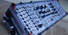 LEGO Eurorack Synthesizer Cases