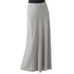 LC Lauren Conrad Striped Maxi Skirt