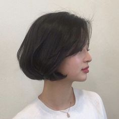 Top Ideas For Curly Long Hair Wedding Styles Asian Short Hair, Short Hair Cuts, Short Hair Korean Style, Colored Curly Hair, Long Curly Hair, Short Bob Hairstyles, Wedding Hairstyles, Medium Hair Styles, Curly Hair Styles