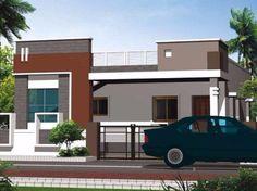 Building Elevation, House Elevation, Front Elevation Designs, 2 Bedroom House Plans, Independent House, House Front Design, Village Houses, Manish, Siri