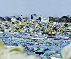If this doesn't convince you to invest in a reuseable water bottle, I don't know what will:  Thilafushi - or Rubbish Island - in the Maldives. The country dumps upwards of 330 tons of rubbish on the island every day, a figure attributed largely to the tourist industry on which the chain of atolls relies