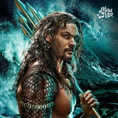 ~ † Jason Momoa † As The New Aqua Man †