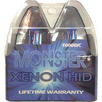 Cheap EuroDezigns H11 Monster Blue Headlights - High Beam 10000k Xenon-Krypton…