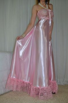 Satin Nightie, Silk Satin Dress, Satin Lingerie, Bridal Lingerie, Pretty Lingerie, Beautiful Lingerie, Satin Dresses, Women Lingerie, Gowns