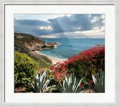 """A beautiful view of """"Treasure Island"""" overlooking Pirates Eye Cliff. This breathtaking Ocean Fine Art Print compliments any Interior Decor. // Photography by Alex Acropolis Calderon. Buy stunning fine art prints, framed prints and canvas prints from Versailles Exquisites Photography."""