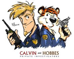 A Gallery of Calvin and Hobbes Art