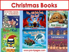 Favorite Christmas books to read aloud in preschool, pre-k, and kindergaren.