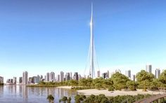 The Tower Dubai. A skyscraper taller than the Burj Khalifa. Expected to be finished by 2020