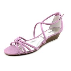 Alfani Victor Womens Size 7.5 Purple Suede Wedge Sandals Shoes Alfani to enter online shopping or purchase click on Amazon right here http://www.amazon.com/dp/B00KO3YLW6/ref=cm_sw_r_pi_dp_XA0Wtb1V8V3P7Q2Y