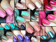 Nail Polish Wars: Nicole by OPI New Core Colors 2014 Swatch, Review ...