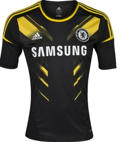 New Chelsea Third Kit Black Adidas Chelsea Jersey 51a3533df