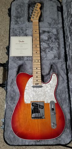 Received this brand new American Elite Telecaster as a birthday gift yesterday. I am so thankful for the people in my life. It plays even better than it looks!