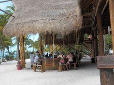 Isla Mujeres : Norht beach Swing Bar