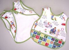 a few tutorials that are for burp cloths and bibs