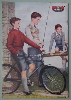 School Wear, School Boy, Fair Isle Knitting, Vintage Knitting, Pattern Books, Knitwear Fashion, Booklet, Knitting Patterns, Sewing Patterns