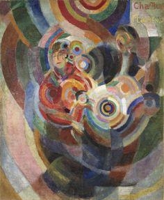 Sonia Delaunay, Chanteurs Flamenco (Grand Flamenco), 1915-1916