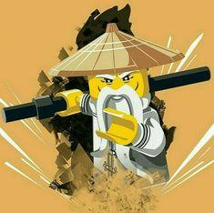 The Lego Ninjago Movie Sensei Wu