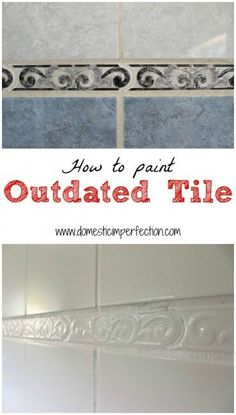 how to paint ceramic tile house of whiteakers pinterest paint ceramic tiles painted ceramics and kitchens