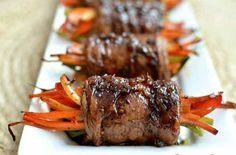 Balsamic Glazed Steak Rolls | Grocery Eats
